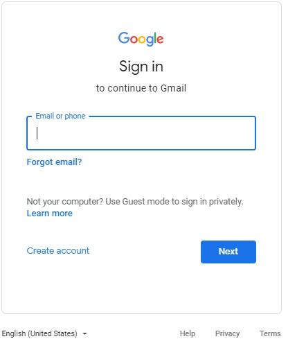 गूगल में साइन इन कैसे करे