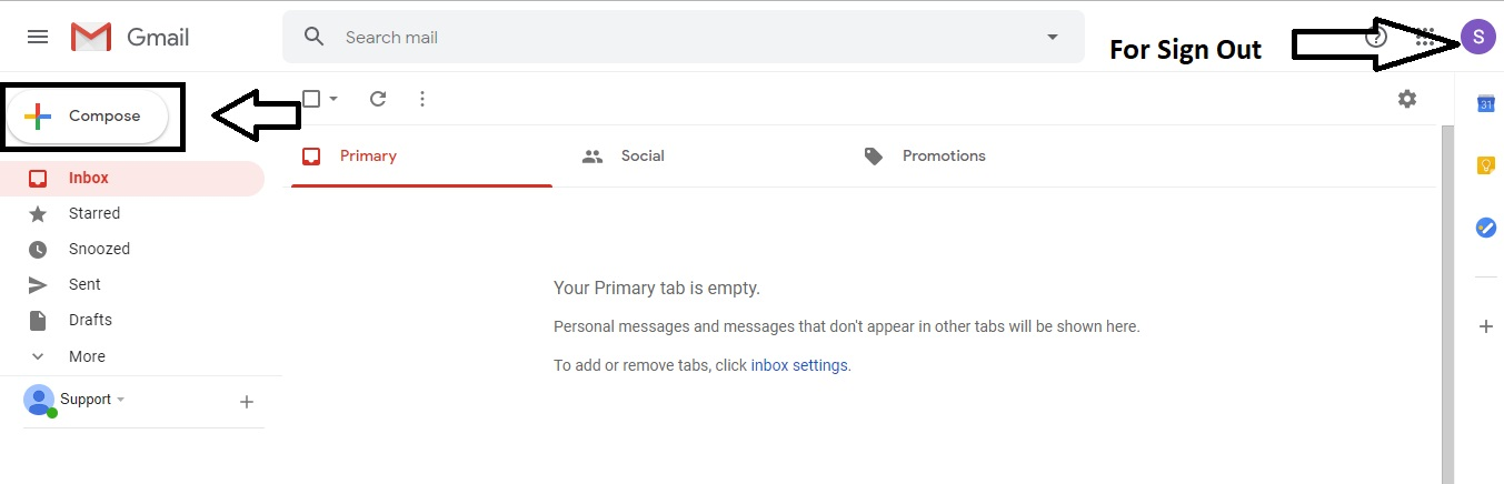 gmail logout kaise kare