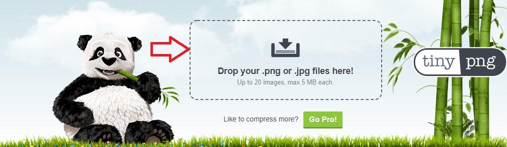 tinypng से इमेज कम्प्रेस कैसे करे