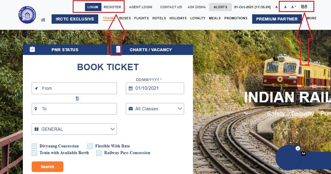 IRCTC par Account kaise banaye step by step